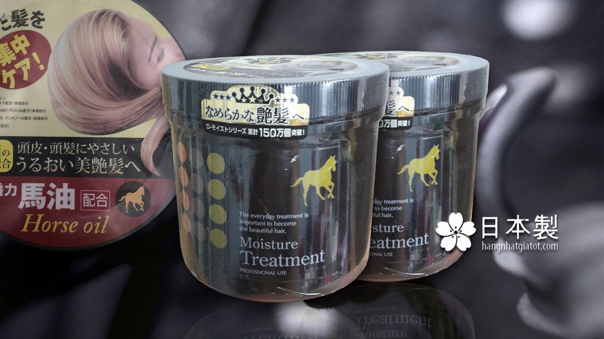 Dầu ủ tóc Horse Oil Moisture Treatment